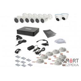 Комплект видеонаблюдения Tecsar 8OUT-MIX2