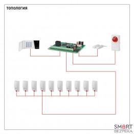 Автономная проводная сигнализация
