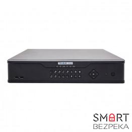 Сетевой видеорегистратор Tecsar Lead NVR-L-32CH4H16POE-5-2U/320