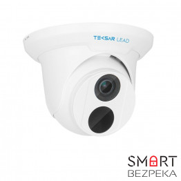Комплект IP видеонаблюдения Tecsar Lead IP 4DOME-2MP - Фото № 1