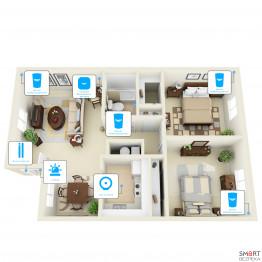 Беспроводная сигнализация для офиса 6 датчиков