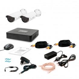 Комплект видеонаблюдения Tecsar AHD 2OUT VARIO
