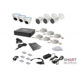 Комплект видеонаблюдения Tecsar 6OUT-MIX