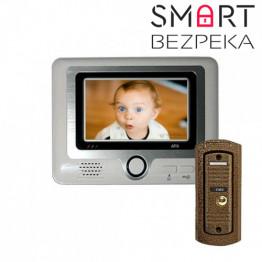 Видеодомофон цветной ATIS AD-297С/AT-305C brown
