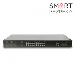 POE коммутатор 20-портовый Tecsar TS-1622sfp-m