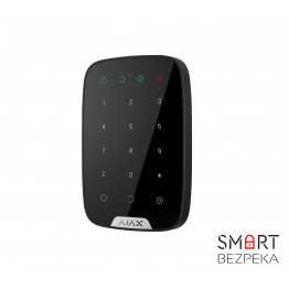 Беспроводная сенсорная клавиатура Ajax KeyPad черная - Фото № 3