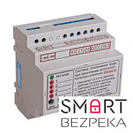 Контроллер КУА-4/2 для управления системой  АНТИПОТОП