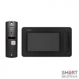 Комплект видеодомофона ARNY AVD-4005 black