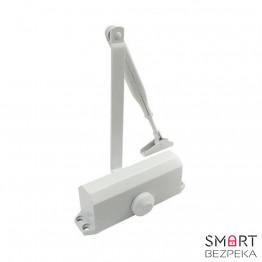 Доводчик дверной ECO-Schulte TS-10 ЕN 2/3/4 Silver локтевая тяга с фиксацией