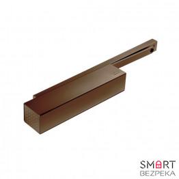 Доводчик дверной Dorma TS 92 B ЕN 1/2/3/4 со скользящей тягой (коричневый)