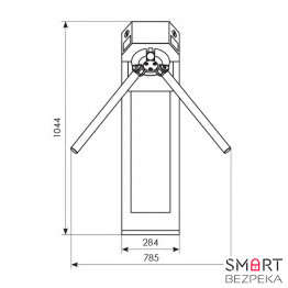 Турникет трипод Expert окрашенная сталь электроприводной штанга алюминий 3.6.2 Proxy + Proxy - Фото № 21
