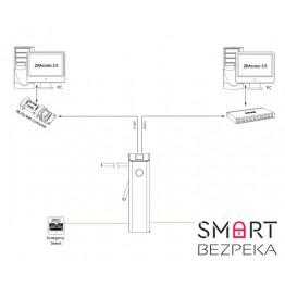 Турникет-трипод под учет рабочего времени ZKTeco TS1022(контроллер отпечаток пальца+ID)