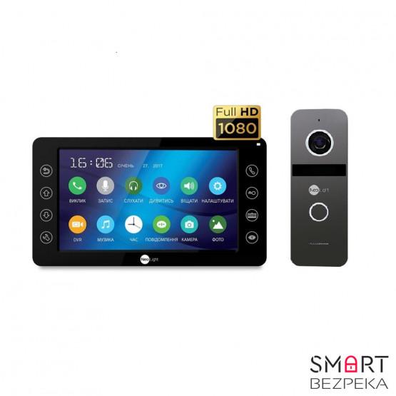 Комплект видеодомофона Neolight Kappa+ HD Black / Solo FHD Graphite