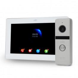 Комплект видеодомофона ATIS AD-770FHD White + AT-400HD Silver