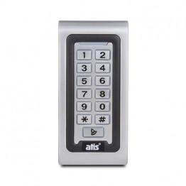 Комплект контроля доступа с кодовой клавиатурой ATIS AK-601W, электромагнитным замком Yli Electronic YM-280N, уголком Yli Electronic MBK-280NL, кнопкой выхода Yli Electronic PBK-815, блоком питания Full Energy BGM-123Pro 12 В / 3 А