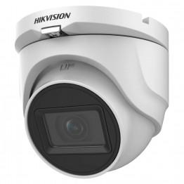 HD-TVI видеокамера 5 Мп Hikvision DS-2CE76H0T-ITMF(C) (2.4 мм) для системы видеонаблюдения