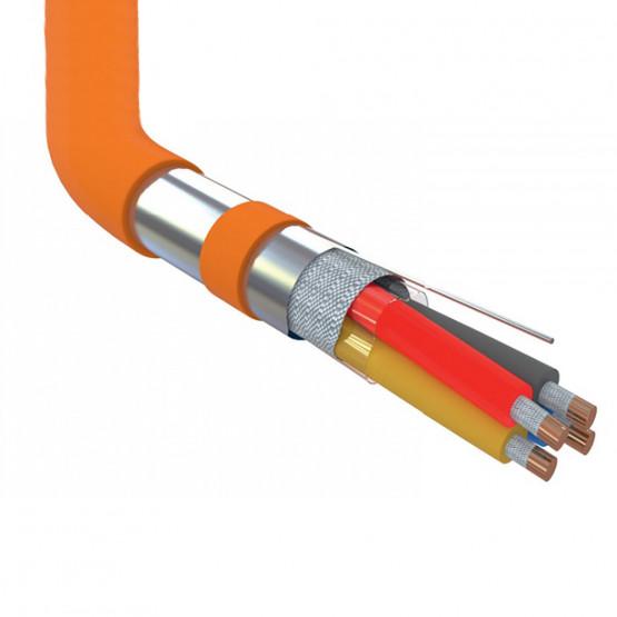 Огнеупорный кабель УкрПожКабель JE-H(St)H FE180 / E90 2x2x1.5