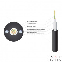 Оптический кабель Finmark UT012-SM-16 ADSS