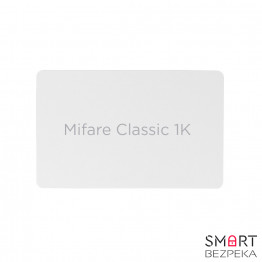 Бесконтактная карта Tecsar Trek Mifare Classic 1K 08 мм белая - Фото № 7