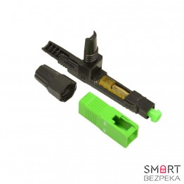 Оптический коннектор Cor-X Fast connector SC/АPC-FTTH-02 - Фото № 15