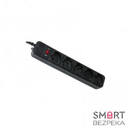 Сетевой фильтр Maxxter SPM5-G-15B 4.5 м кабель 5 розеток черный