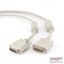 Кабель DVI-DVI 1.8м Cablexpert CC-DVI-6C