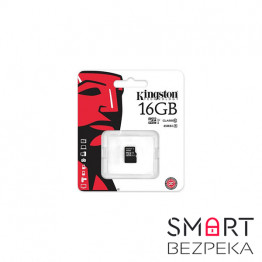 Карта памяти Kingston 16GB microSDHC C10 UHS-I (SDC10G2/16GBSP) - Фото № 3