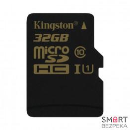 Карта памяти Kingston 32GB microSDHC C10 (SDCA10/32GBSP)