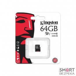 Карта памяти Kingston 64GB microSDXC C10 UHS-I (SDC10G2/64GBSP) - Фото № 16