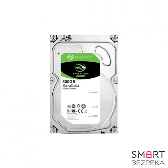 Жесткий диск 3.5 Seagate BarraCuda HDD 500GB 7200rpm 32MB ST500DM009 SATA III