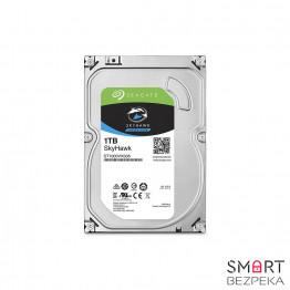 Жесткий диск 3.5 Seagate SkyHawk HDD 1TB 5900rpm 64MB ST1000VX005 SATAIII