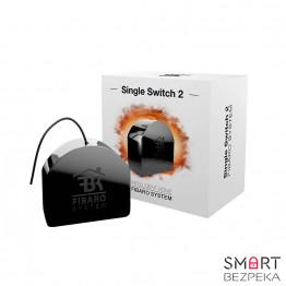 Релейный выключатель со счетчиком электроэнергии FIBARO Single Switch Z-Wave Plus — FIBEFGS-213