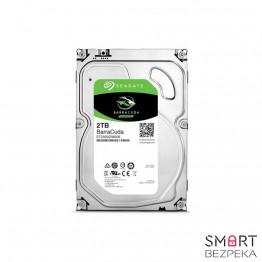 Жесткий диск 3.5 Seagate BarraCuda HDD 2TB 7200rpm 64MB ST2000DM006 SATA III