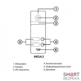 Вызывная панель NeoLight MEGA/2 - Фото № 2