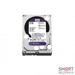 Жесткий диск Western Digital Purple 2TB 64MB WD20PURZ 3.5 SATA III