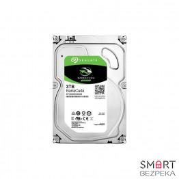 Жесткий диск 3.5 Seagate BarraCuda HDD 3TB 7200rpm 64MB ST3000DM008 SATA III