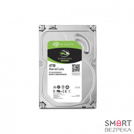 Жесткий диск 3.5 Seagate BarraCuda HDD 4TB 7200rpm 64MB ST4000DM005 SATA III