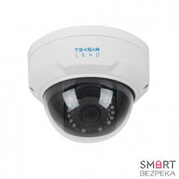 IP-видеокамера купольная Tecsar Lead IPD-L-4M30F-SDSF6-poe 28 mm