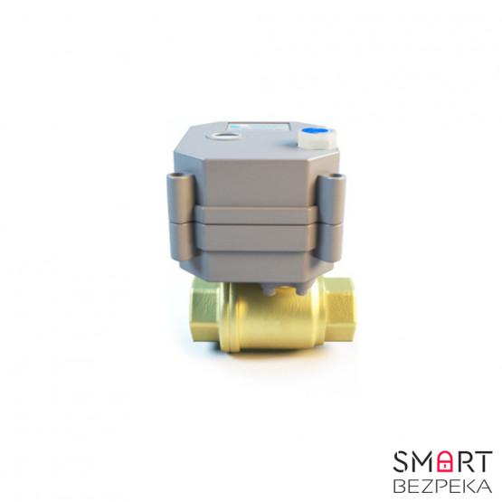 Шаровой кран Z-Wave с электроприводом Сonnect Home 1/2 - СН-601