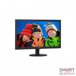 Монитор 24 Philips 243V5QHABA/01 Black