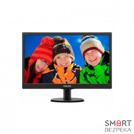 Монитор 24 Philips 240V5QDSB/01 Black