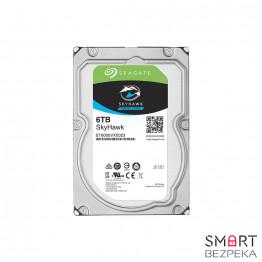 Жесткий диск 3.5 Seagate SkyHawk HDD 6TB 7200rpm 256MB ST6000VX0023 SATAIII