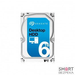 Жесткий диск Seagate Desktop HDD 6TB 7200rpm 128MB ST6000DM001 3.5 SATAIII