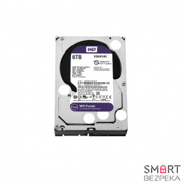 Жесткий диск Western Digital Purple 6TB 64MB WD60PURZ 3.5 SATA III