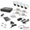 Комплект видеонаблюдения Tecsar 4OUT-DOME LUX - Фото №8