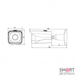 Вулична IP-камера Dahua DH-IPC-HFW5431EP-Z