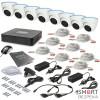 Комплект видеонаблюдения Tecsar 8OUT-DOME - Фото №8