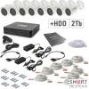 Комплект видеонаблюдения Tecsar 8OUT+2TБ HDD - Фото №8