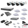 Комплект видеонаблюдения Tecsar IP 4OUT LUX - Фото №5