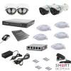 Комплект IP видеонаблюдения Tecsar IP 4OUT LUX MIX - Фото №6
